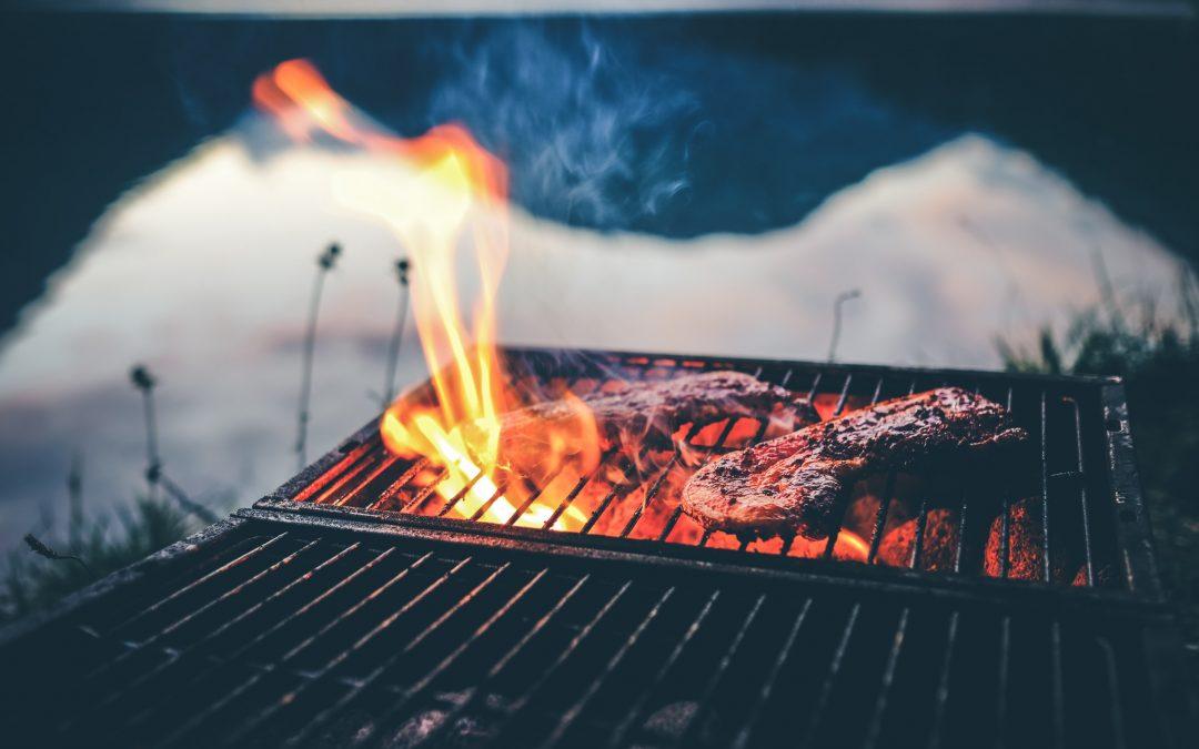 Outdoor Kitchen Barbeque